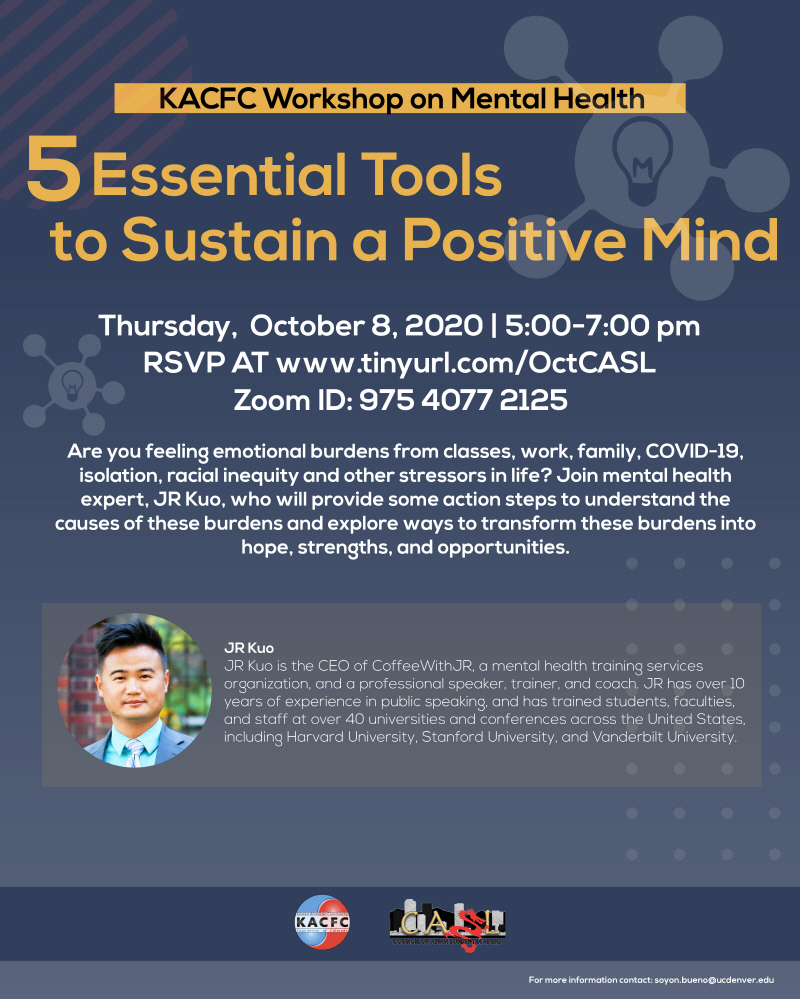 2020. Oct. 5 Essential Tools to Sustain a Positive Mind