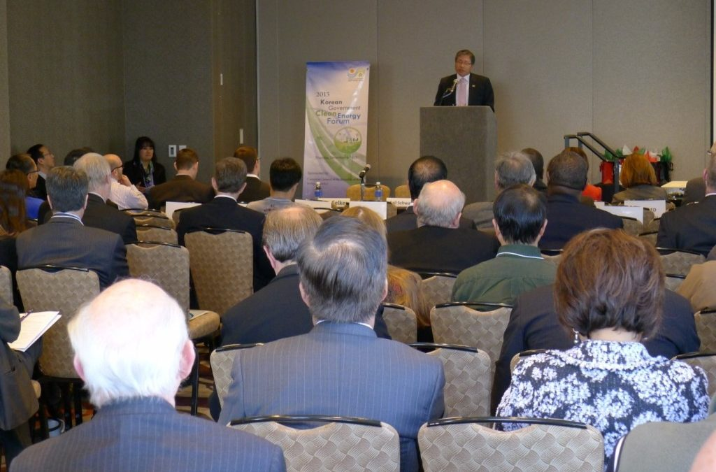 2013. Dec. Korean Government Clean Energy Forum